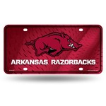 Rico University of Arkansas Metal Auto Tag