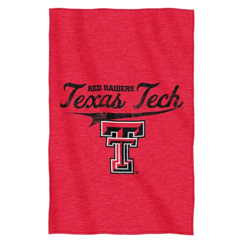 The Northwest Company Texas Tech University Sweatshirt Throw