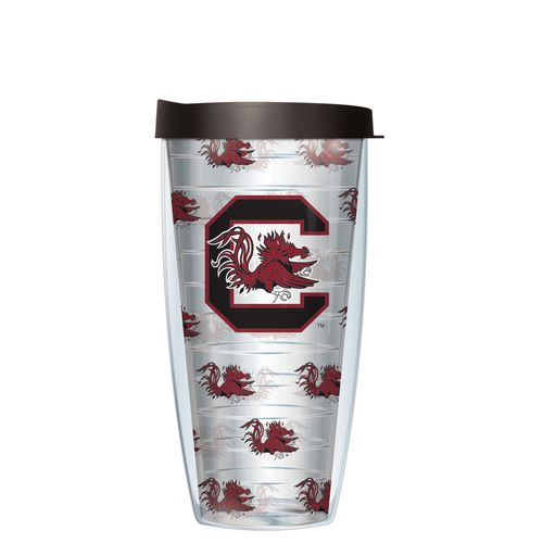 Signature Tumblers University of South Carolina 22 oz. Repeated Pattern Traveler Insulated Tumbler