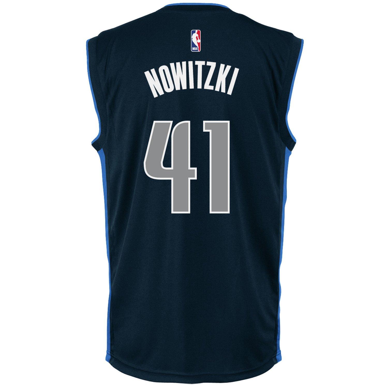 adidas Men's Dallas Mavericks Dirk Nowitzki #41 Replica