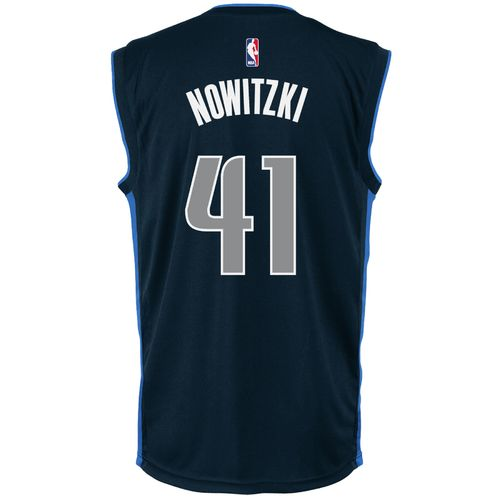 adidas™ Men's Dallas Mavericks Dirk Nowitzki #41 Replica Alternate Jersey