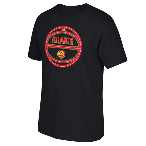 adidas™ Men's Atlanta Hawks Moving Screen Short Sleeve T-shirt