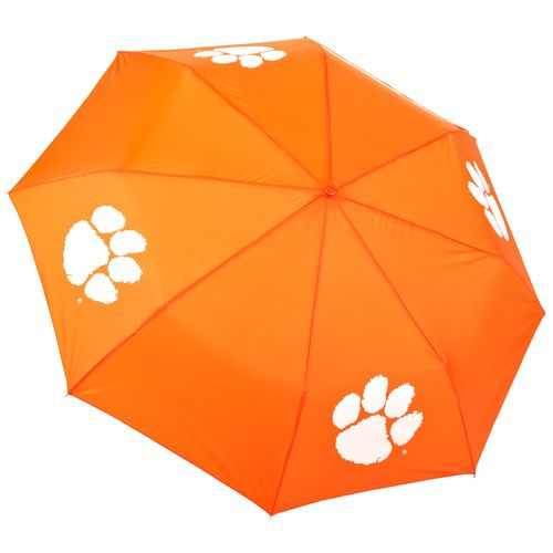 Storm Duds Clemson University Super Pocket Mini Folding Umbrella