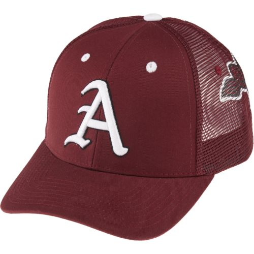 Zephyr Adults' University of Arkansas Screenplay Trucker Mesh Hat