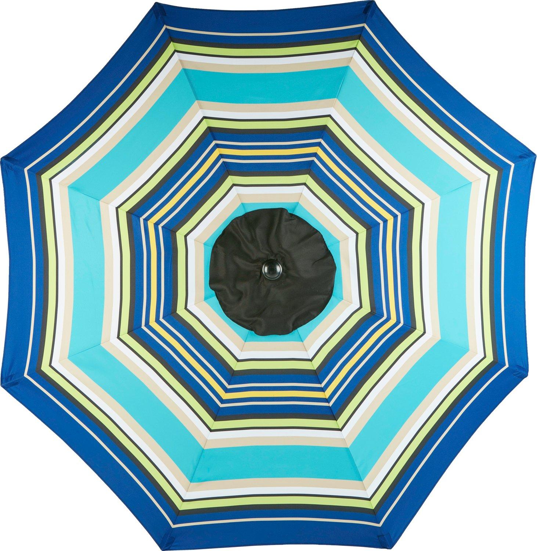 Deals on Mosaic 9-ft Round Steel Market Umbrella