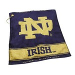Team Golf University of Notre Dame Woven Towel
