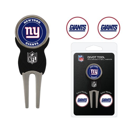 Team Golf New York Giants Divot Tool and Ball Marker Set