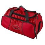 Logo University of Arkansas Athletic Duffel Bag