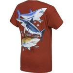 Guy Harvey Boys' Three Sharks T-shirt