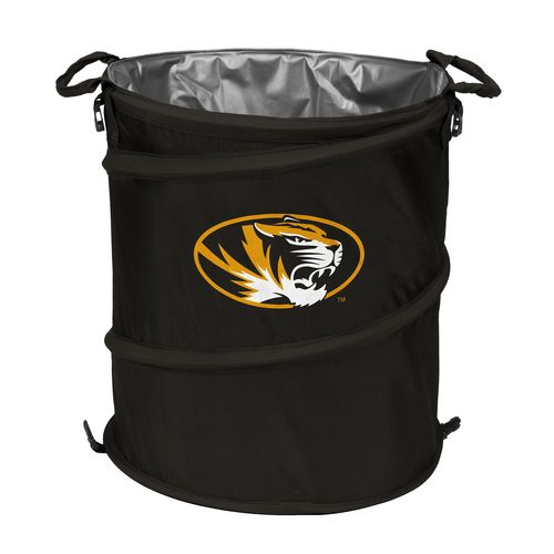 Logo™ University of Missouri Collapsible 3-in-1 Cooler/Hamper/Wastebasket - view number 1