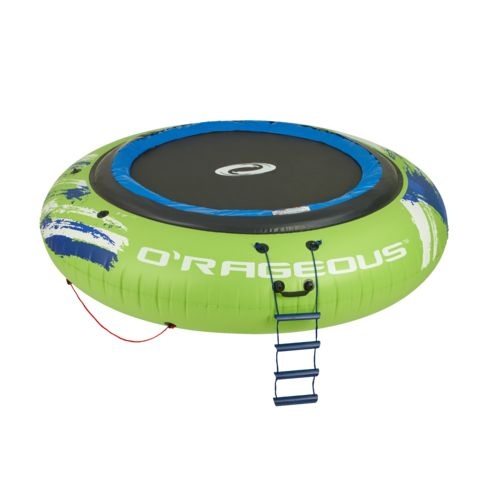 O'Rageous Mega Bouncer 13' Round Inflatable Water Trampoline