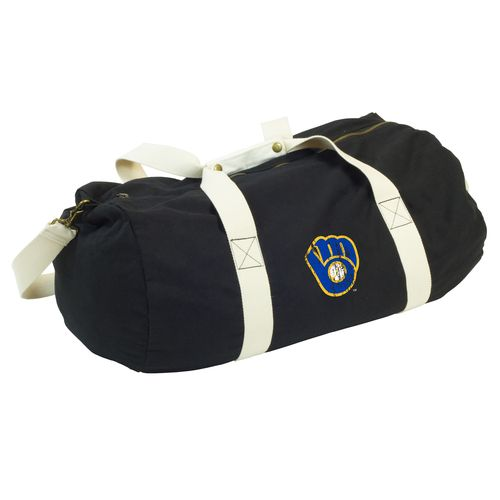 Logo Milwaukee Brewers Cooperstown Sandlot Duffel Bag