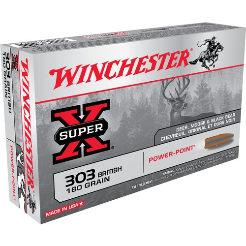 Display product reviews for Winchester Super-X .303 British 180-Grain Power-Point Centerfire Rifle Ammunition