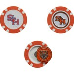 Team Golf Sam Houston State University Poker Chip and Golf Ball Marker Set