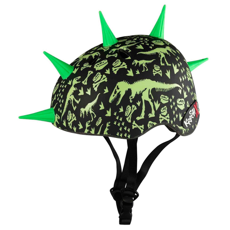 Krash Youth T-Rex Bones Liberty Spike Bicycle Helmet