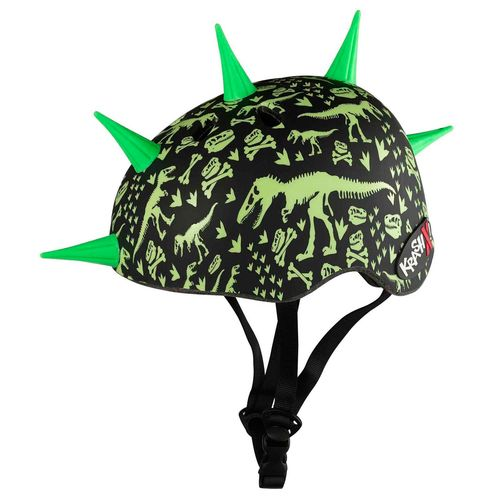 Krash Youth T-Rex Bones Liberty Spike Bicycle Helmet