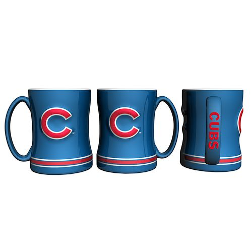Boelter Brands Chicago Cubs 14 oz. Relief Coffee Mugs 2-Pack - view number 1