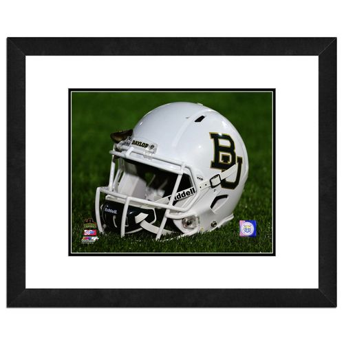 Photo File Baylor University Helmet 16' x 20' Matted and Framed Photo