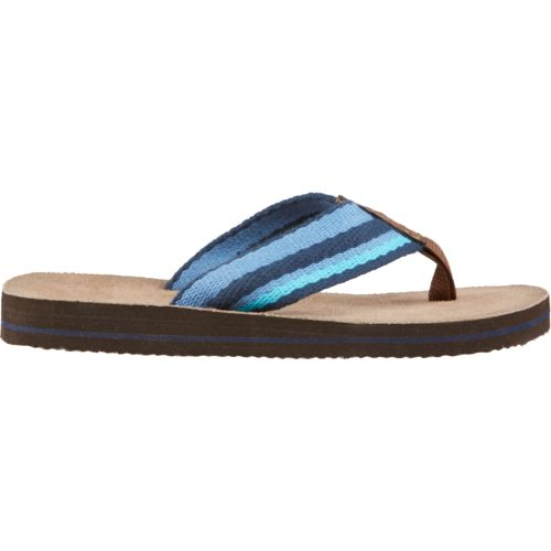 O'Rageous Boys' Stripe Thong Sandals