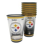 Boelter Brands Pittsburgh Steelers 20 oz. Souvenir Cups 8-Pack - view number 1