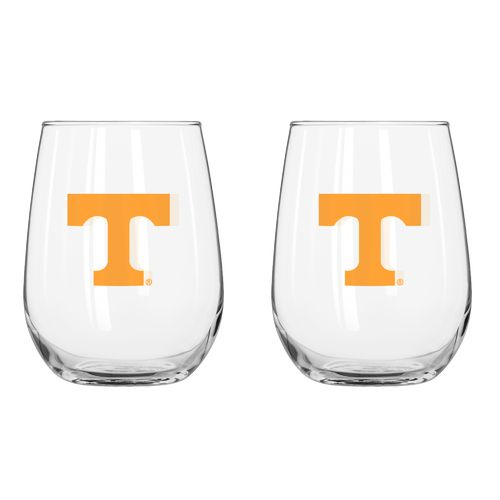 Boelter Brands University of Tennessee 16 oz. Curved Beverage Glasses 2-Pack