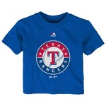 Majestic Infants' Texas Rangers Team Logo T-shirt