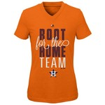 Majestic Boys' Houston Astros Root Root T-shirt