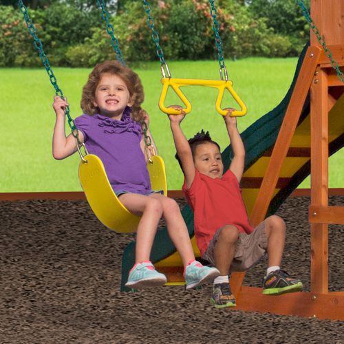 Backyard Discovery™ Weston Wooden Swing Set - view number 8