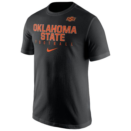 Nike™ Men's Oklahoma State University Short Sleeve Practice T-shirt