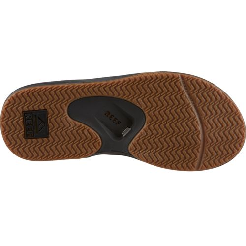 Reef Men's Leather Fanning Sandals - view number 5