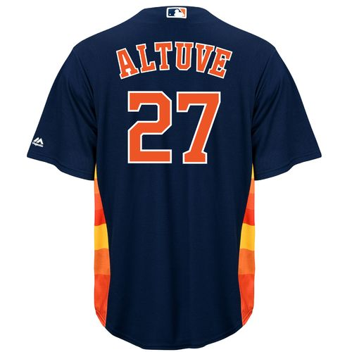 Majestic Men's Houston Astros José Altuve #27 Replica