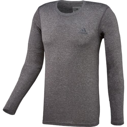 Display product reviews for adidas Men's Ultimate Long Sleeve Crew T-shirt