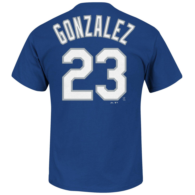 Majestic Men's Los Angeles Dodgers Adrian Gonzalez #23