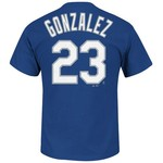 Majestic Men's Los Angeles Dodgers Adrian Gonzalez #23 T-shirt - view number 1