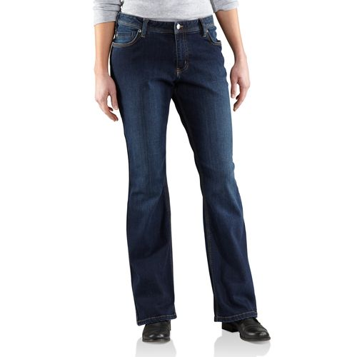 Carhartt Women's Jasper Relaxed Fit Denim Jean