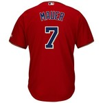 Majestic Men's Minnesota Twins Joe Mauer #7 Cool Base Replica Jersey