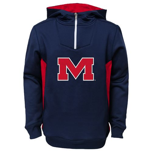 NCAA Kids' University of Mississippi Pullover Hoodie