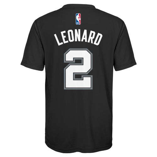 adidas™ Boys' San Antonio Spurs Kawhi Leonard #2 Performance T-shirt