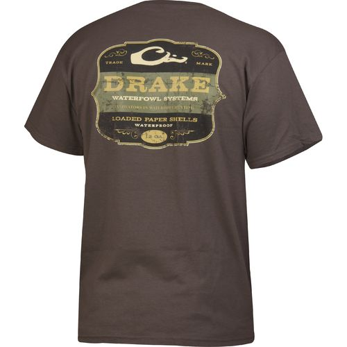 Drake Waterfowl Men's Paper Shells Short Sleeve T-shirt