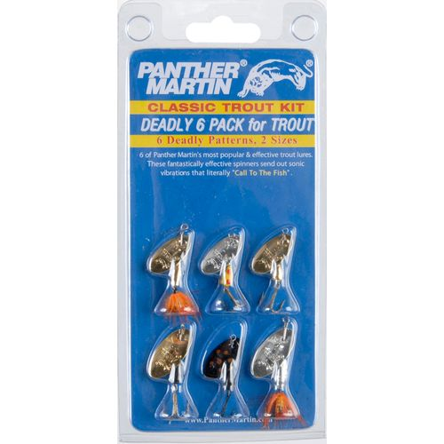 Panther Martin Deadly Trout Spinnerbaits 6-Pack