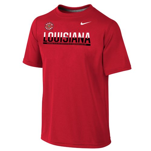 Nike Boys' University of Louisiana at Lafayette Dri-FIT Legend Logo T-shirt