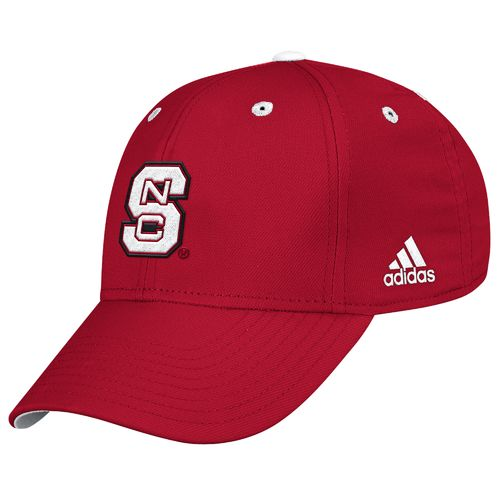 adidas™ Men's North Carolina State University Structured Flex Cap