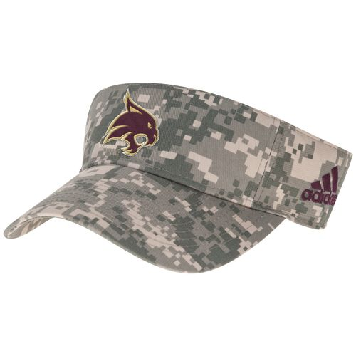 adidas™ Men's Texas State University Digital Camo Visor
