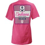 Three Squared Juniors' Indiana University Knotty Tide T-shirt