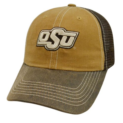 Top of the World Men's Oklahoma State University Incog 2-Tone Adjustable Cap