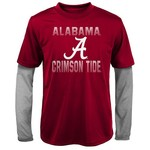 Gen2 Kids' University of Alabama Bleachers Double Layer Long Sleeve T-shirt
