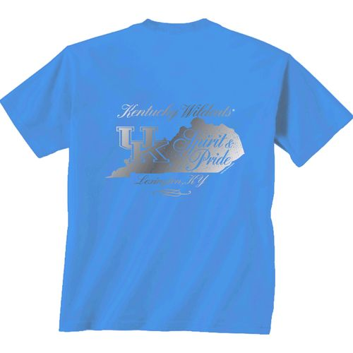 New World Graphics Women's University of Kentucky Distress CC T-shirt