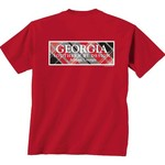 New World Graphics Women's University of Georgia Madras T-shirt