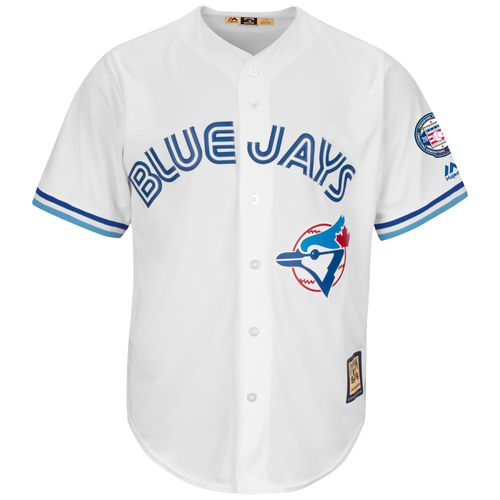 Majestic Men's Toronto Blue Jays Roberto Alomar #12 Cool Base Cooperstown Jersey - view number 3