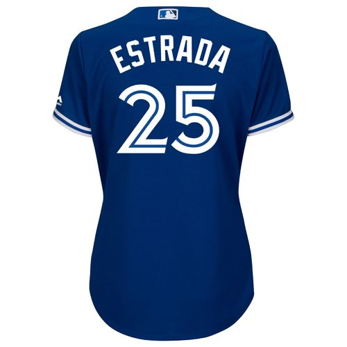 Majestic Women's Toronto Blue Jays Marco Estrada #25 Authentic Cool Base Jersey